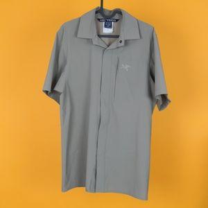 Arc'teryx Men shirt short sleeve classic casual sz S lightweight sport